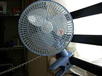 クリップ型扇風機