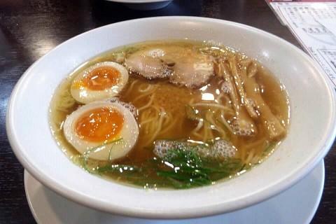 麺王道勝 味玉ラーメン