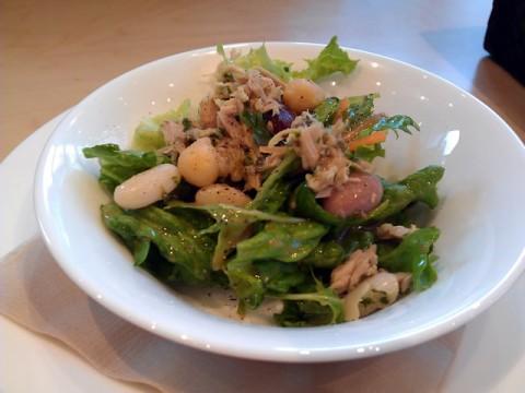 TERRACE L ひよこ豆とツナのグリーンサラダ