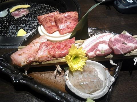 昼会席のお肉