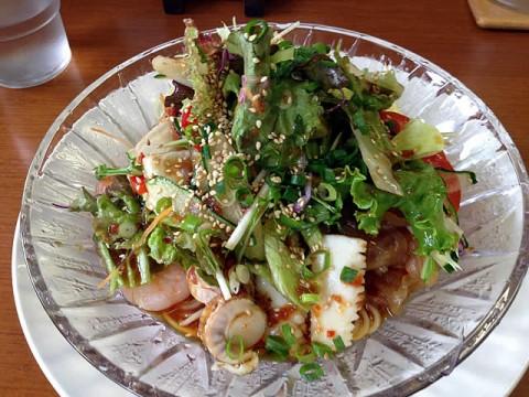 天府仙臺の海鮮と完熟トマトの冷やし麺