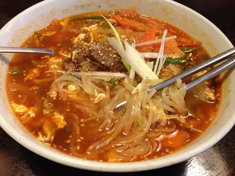 韓国家庭料理 ジャントのカルビ温麺