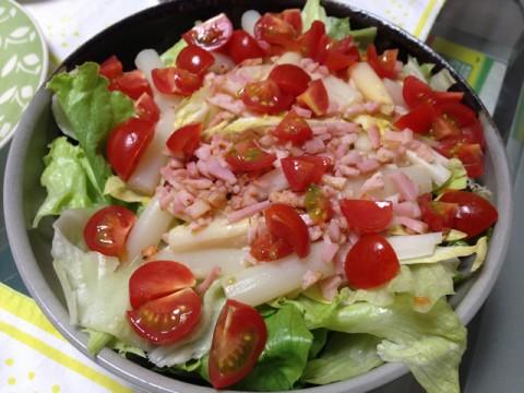シーハーハーサラダ風サラダ