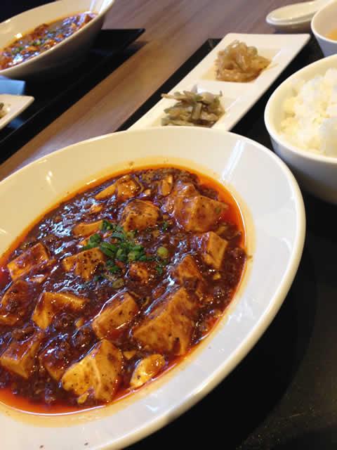 口福吉祥喜龍シーロンの四川麻婆豆腐