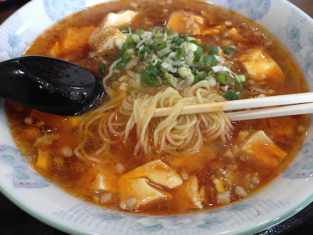 中華食堂香龍の麻婆麺