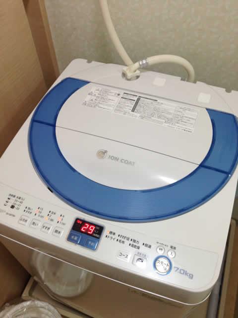 今度は洗濯機が壊れた・・・