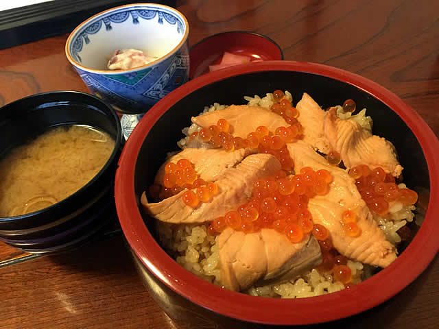 亘理よかろう寿司のはらこ飯