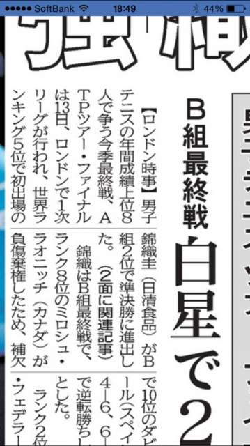 河北新報デジタル版iPhone