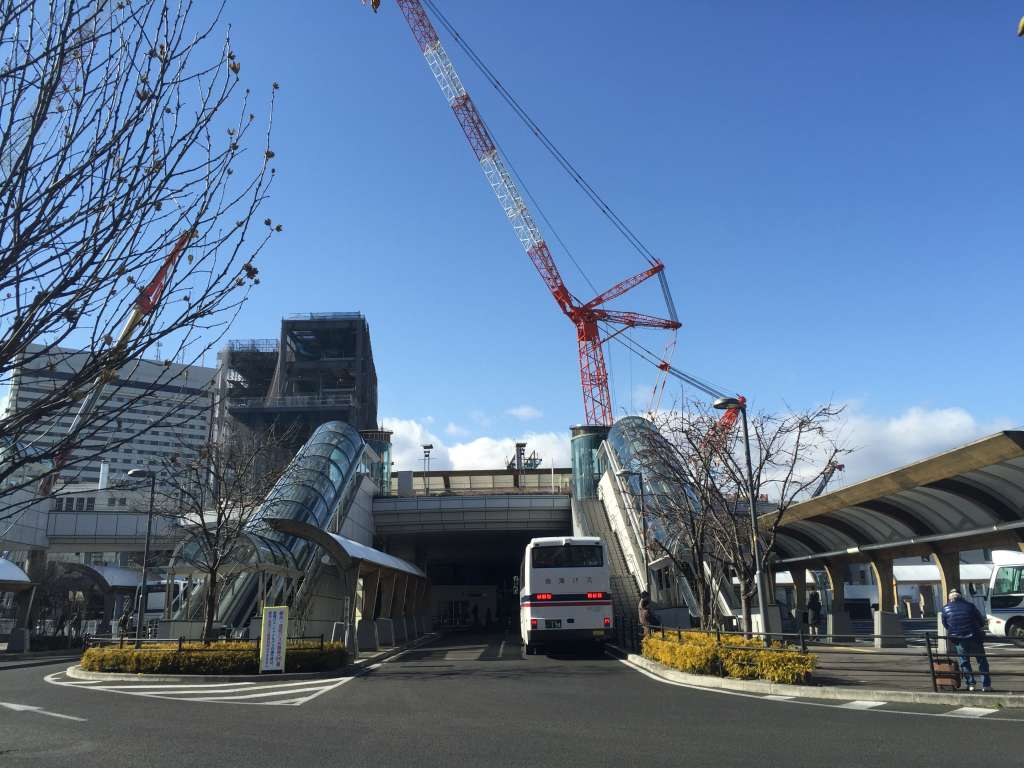 2015年1月の仙台駅東口