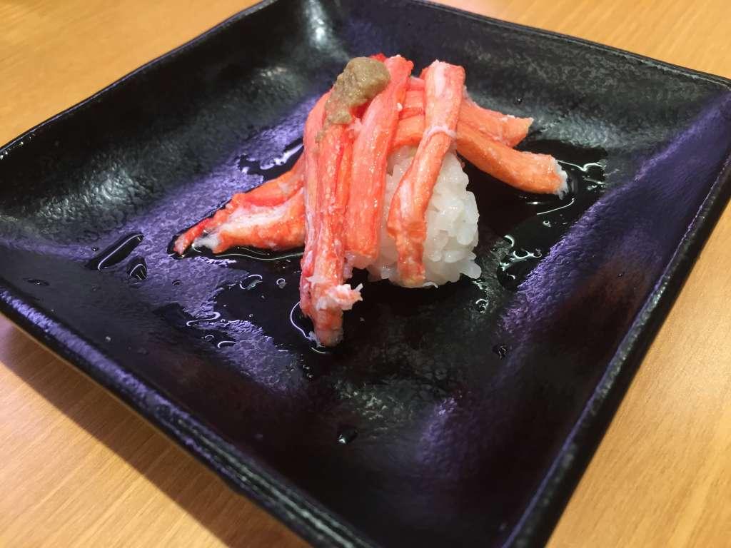 紅ずわい蟹てんこ盛り