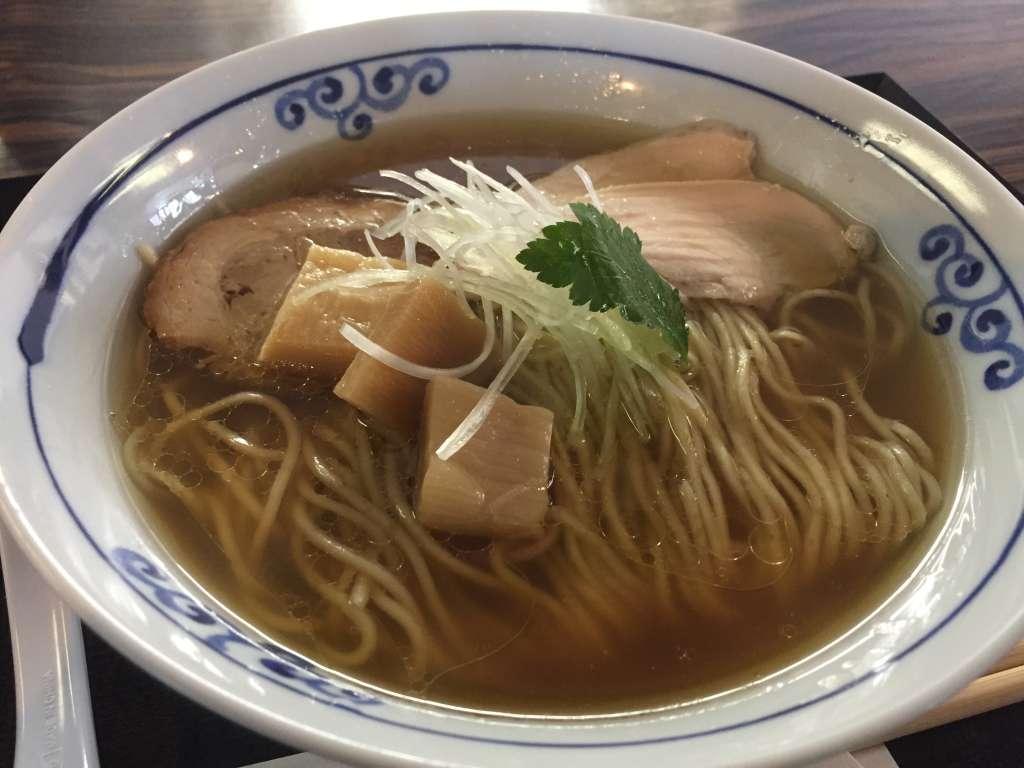 桜木製麺所の鶏醤油中華そば
