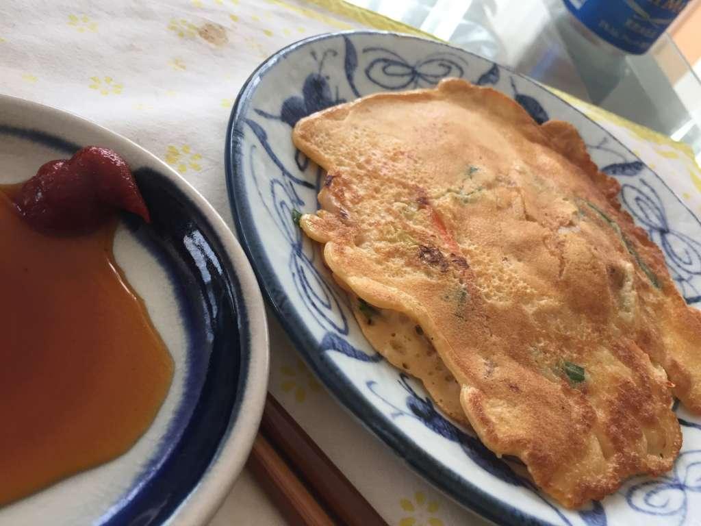 レシピ改良 ふわふわプラスもちもちにバージョンアップ 何枚でも食べられるチヂミ