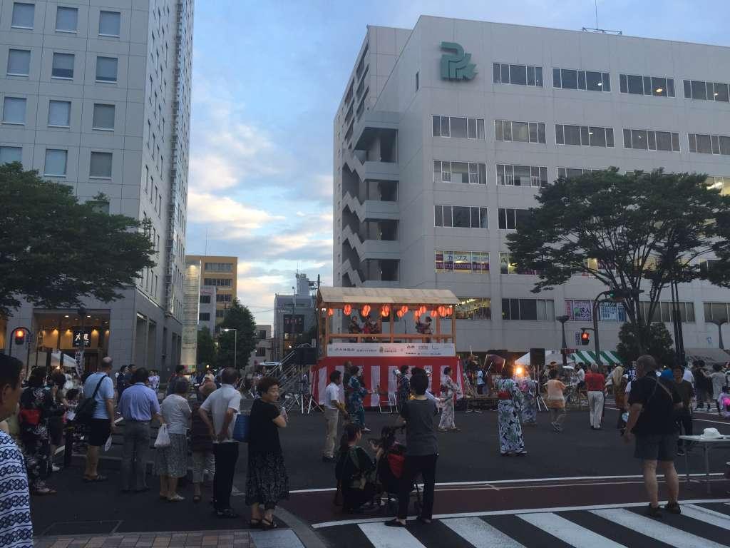 夏まつり仙台すずめ踊りの大盆踊り大会