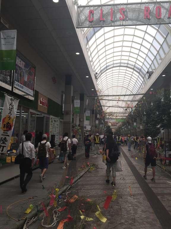 猛暑の中、仙台七夕まつりは明日から