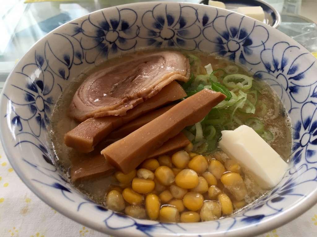 お家で食べる、札幌西山ラーメンの味噌らーめん