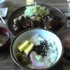 お腹いっぱい・・・力寿司のチキンカツどんぶり