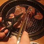 誕生日祝いは、牛角で焼肉