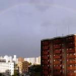 気分転換と見事な虹