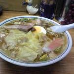 富士屋のワンタン麺