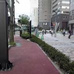 仙台駅東口自転車専用道路