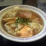 麺房大喜 魚系醤油ワンタンメン