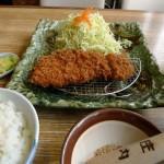 とんかつ庄内の日替わりランチ(ロースカツ定食)