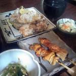 南光台 鳥料理「杉本」の鳥定食