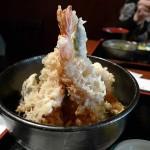 たけ政の500円ランチ天丼