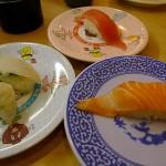 無添くら寿司で12皿