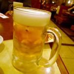11月中は生ビール1杯150円「焼肉ひがしやま」