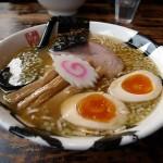 麺屋久兵衛の「味玉ラーメン(大盛)」