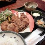 居酒屋ごいちの鶏唐定食(ランチ)