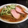 麺匠ぼんてんの冷やしラーメン(醤油)