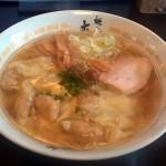 麺房大喜の海塩ワンタン麺