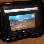 プロ野球開幕戦をiPadでお風呂で観戦(予定)