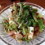 天府仙臺の夏季限定 海鮮と完熟トマトの冷やし麺