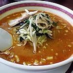 福来苑の味噌担々麺