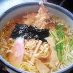「麺房そば玄」さんの天ぷらラーメン