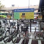 仙台駅前の駐輪場