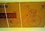 自転車が届いた