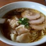 三福の海老ワンタン麺(醤油)