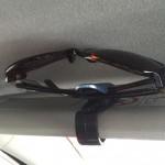 車の中の眼鏡置き場