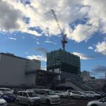 仙台駅東口2016夏の風景