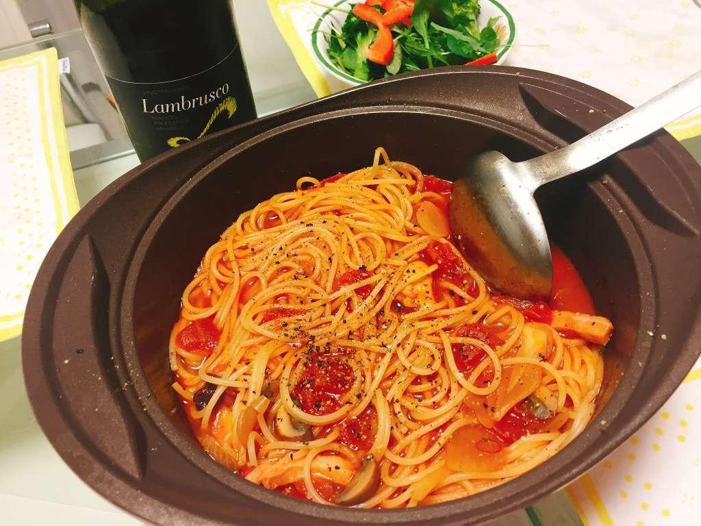 真夜中のスパゲティー