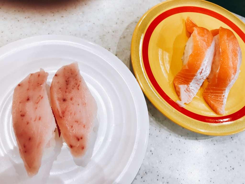 かっぱ寿司おすすめはビンチョウマグロ