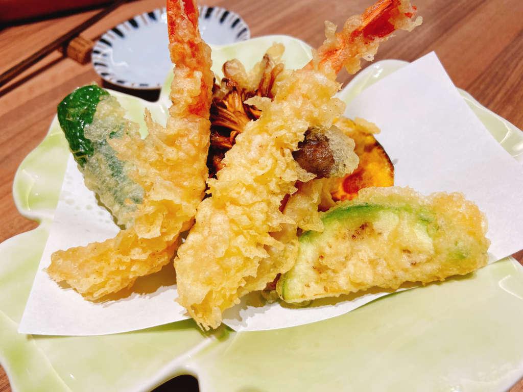 ワイン・寿司・天ぷら 魚が肴 天ぷら盛り合わせ