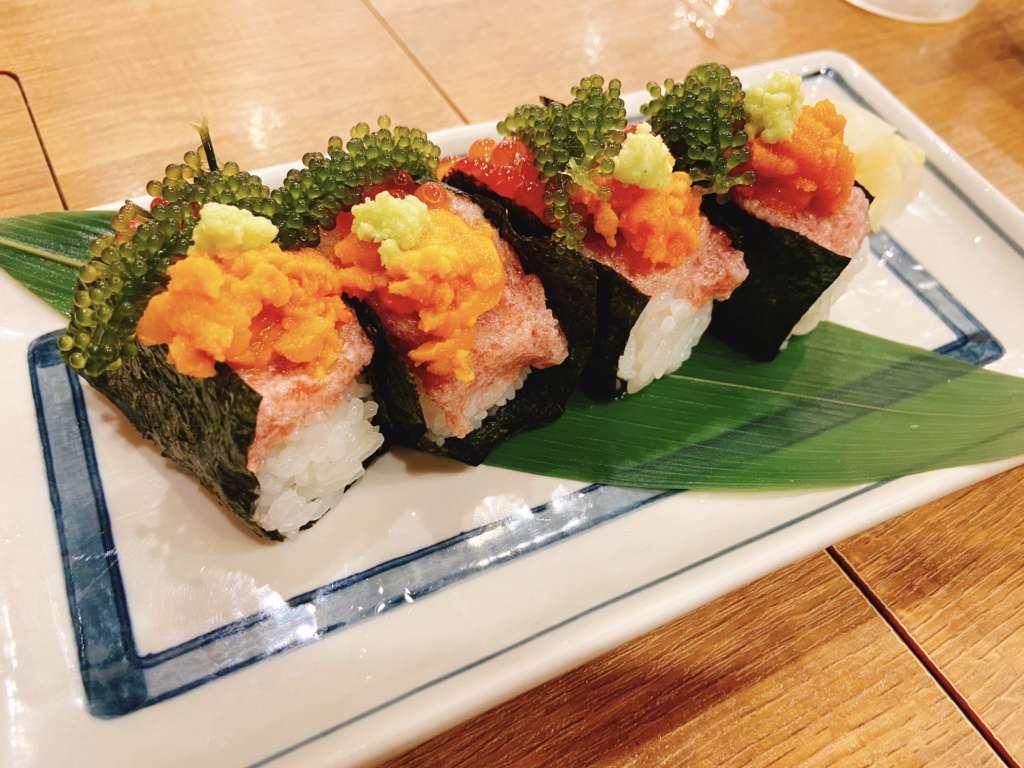 磯丸水産贅沢こぼれ寿司