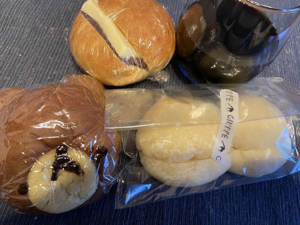 ブーランジェリージラフのおやつパン